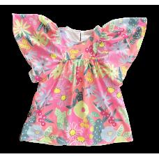 Vestido Jardim Tropical - Mon Sucré