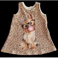 Vestido Onça Fashion - YoLoveYo