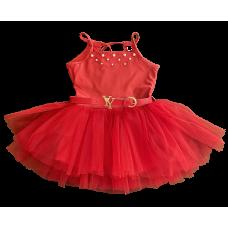 Vestido Tutu Vermelho - YoLoveYo