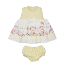 Vestido Manu - com calcinha - Cotton - Upi Uli