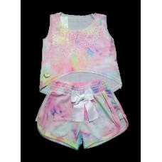 Conjunto Tie Dye - Short e Cropped - YoLoveYo