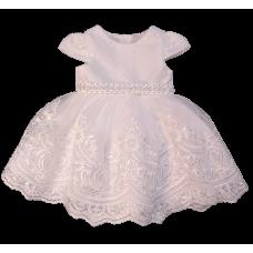 Vestido Shine - Off Pérolas  - Petit Cherie