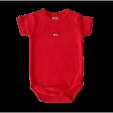 Body Básico Vermelho - Suedine - Mini Bear