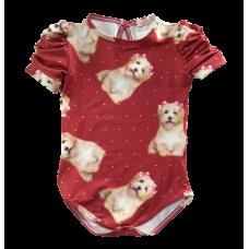 Body Cachorro Vermelho Bordô - YoLoveYo