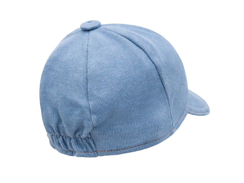 Boné Malha Denim - Azul Jeans Claro - LucBoo