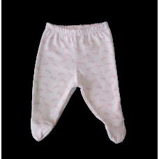 Calça Suedine - Laços Rosa - proteção solar Uv50 - Mini Bear