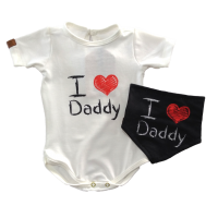 Conjunto Body e Bandana - Love Daddy - Yoh!Lord