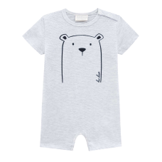 Macacão Curto Bear - Mescla - LucBoo
