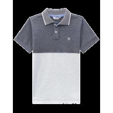 Camisa Polo - Tons de Cinza - LucBoo