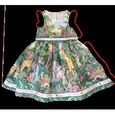 Vestido Safari Selva - Petit Cherie