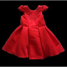 Vestido Cherry Vermelho - Petit Cherie