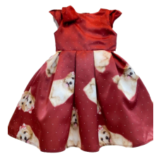 Vestido Cachorro - Vermelho Bordô Chic - YoLoveYo