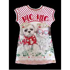 Vestido PicNic Dog - Petit Cherie