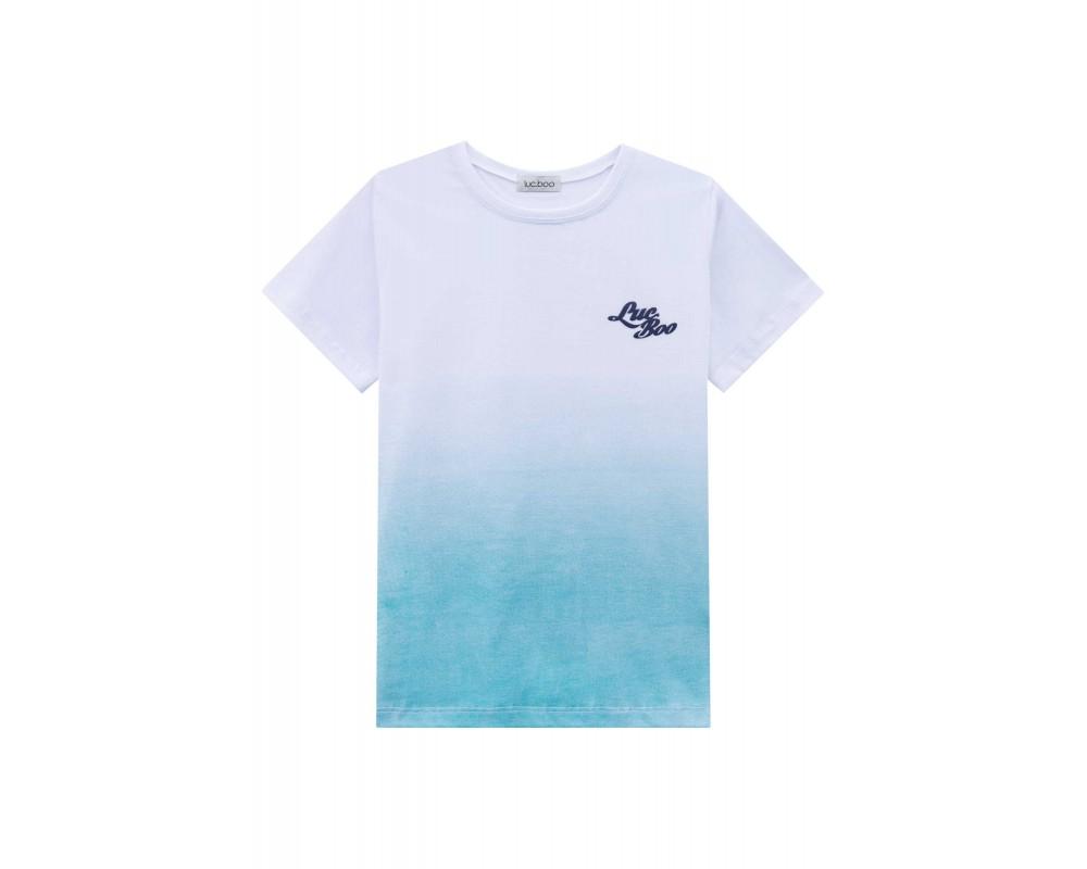 Camiseta Degradê Verde Água - LucBoo